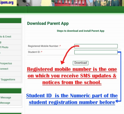 IPEM International School - Steps to download and install